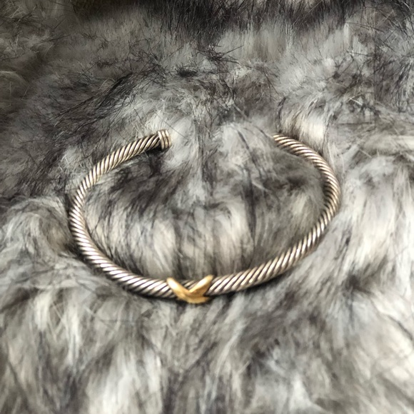 David Yurman Jewelry - DAVID YURMAN 4MM CABLE BRACELET X